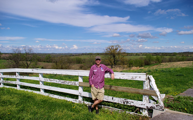 Hiking Shaker Village Kentucky